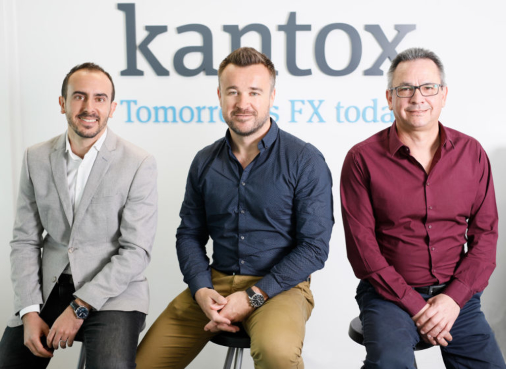 <p>Kantox Co-Founders: Toni Rami, Philippe Gelis and John Carbajal</p>
