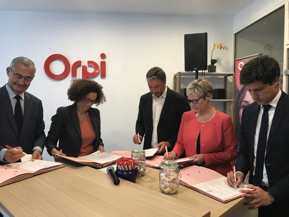 <p>Signature du Green Deal le 9 septembre 2019</p>