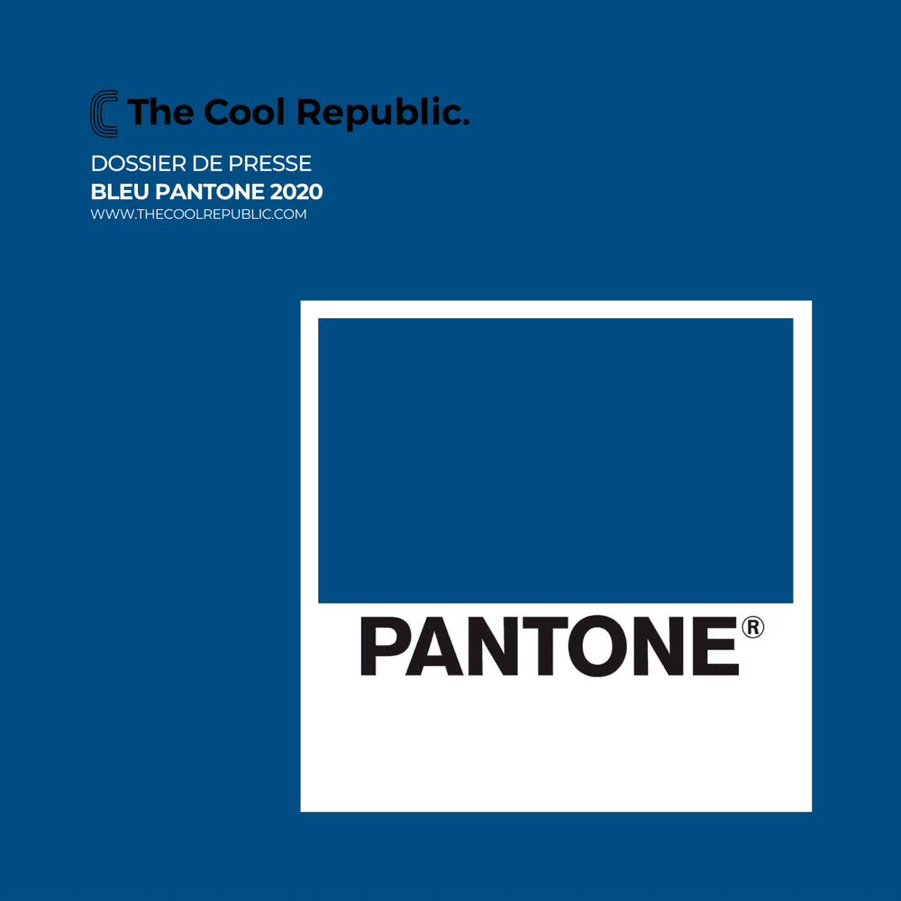 <p>Bleu pantone - The Cool Republic</p>