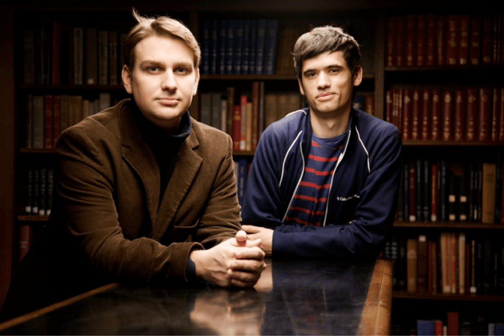 <p>Balazs Alexa and Jean Meyer, co-founders of Wanted</p>