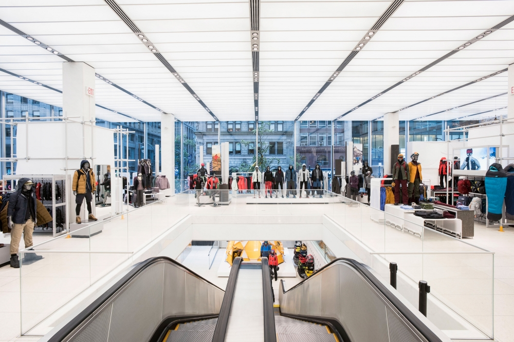 e5cd29245 The North Face Launches First Global Flagship on Fifth Avenue in New ...