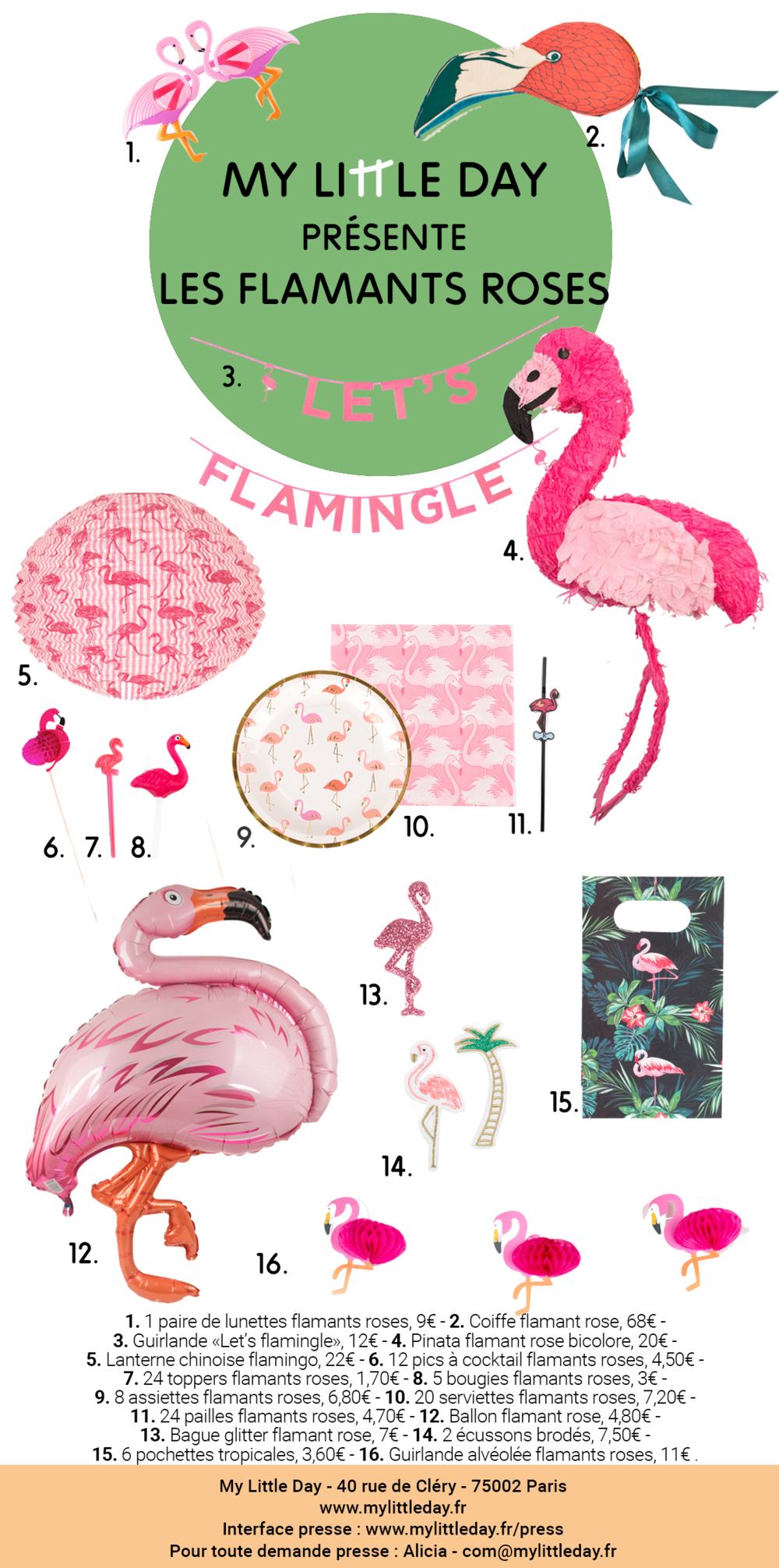 my-little-day-flamant-rose