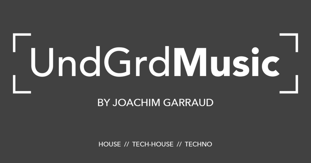 <p>UndGrdMusic by Joachim Garraud (logo)</p>