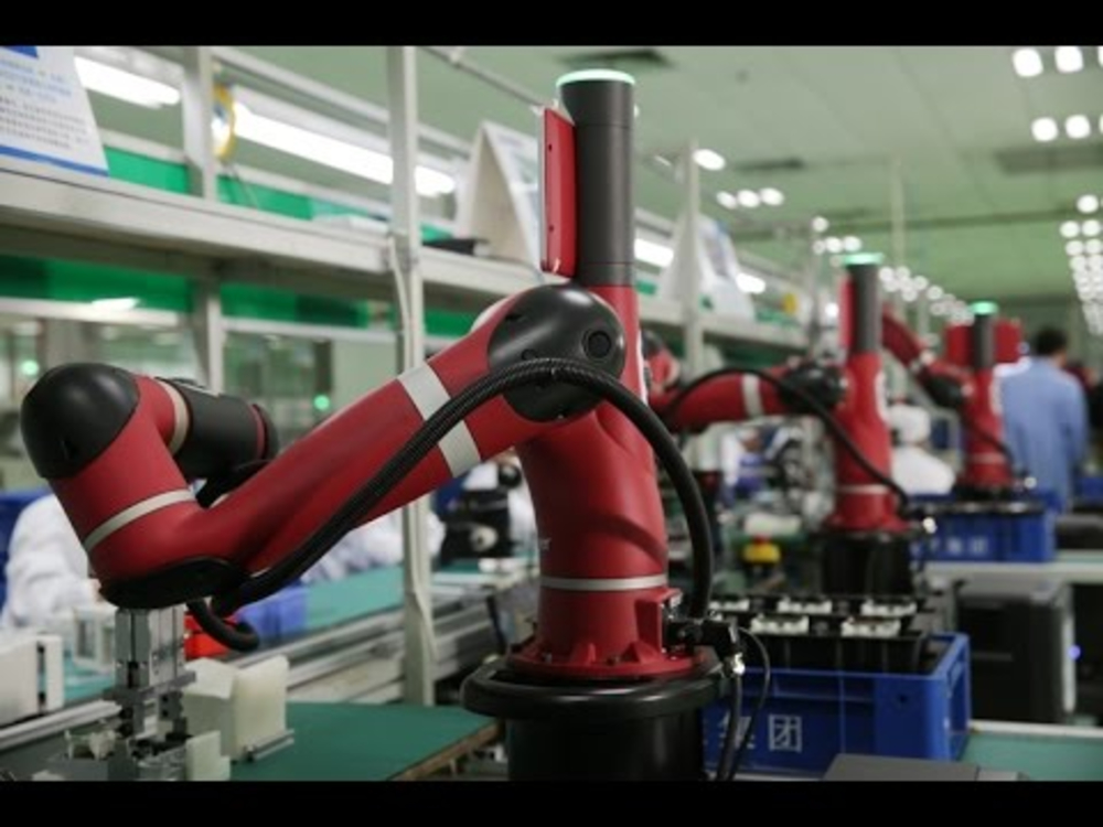 <p>Global Collaborative Industrial Robots Market</p>