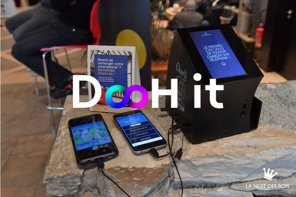 <p>DooH IT et son support digital innovant CharLi Play</p>