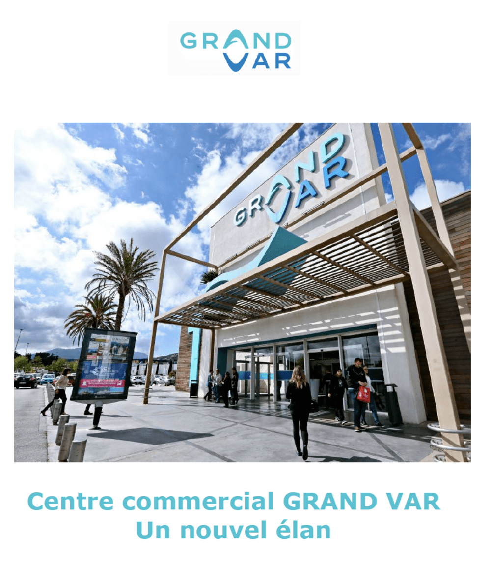 <p>Centre commercial Grand Var (La Valette-du-Var - 83)</p>